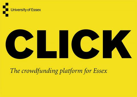 Click - the crowdfunding platform for Essex University