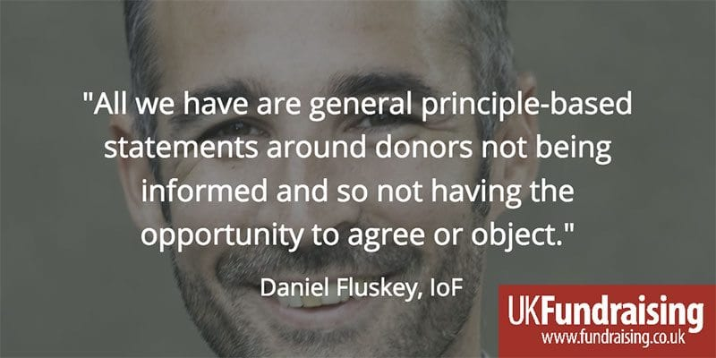Daniel Fluskey quote on ICO ruling against BHF and RSPCA