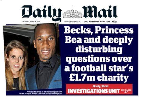 Didier Drogba Daily Mail