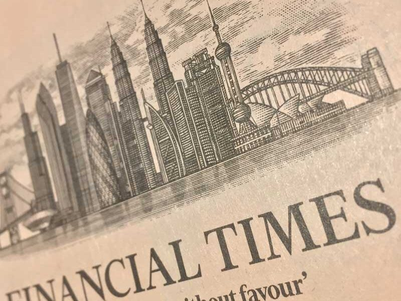 FInancial Times logo from its editorial page