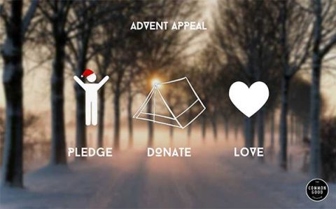 Pledge Donate Love - Advent Appeal