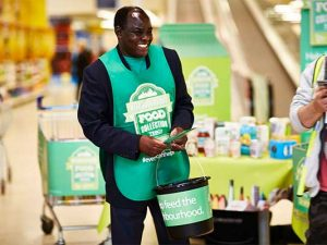 Tesco launches its largest Neighbourhood Food Collection