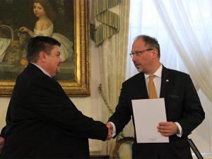 British trucker honoured by Polish Ambassador for raising £196k