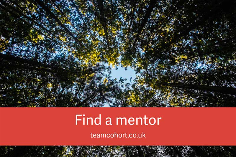 Cohort's find a mentor scheme for charity staff