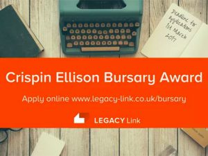 New bursary for charity legacy administration qualification