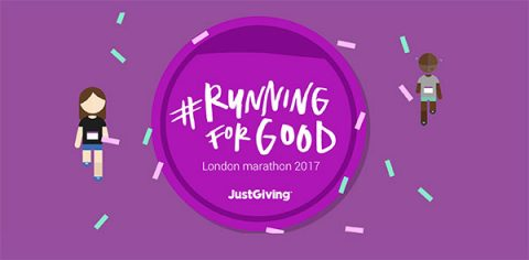 justgiving running for good