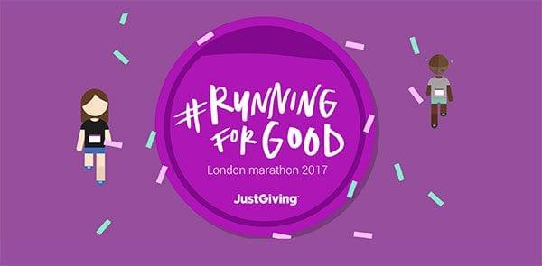 justgiving running for good