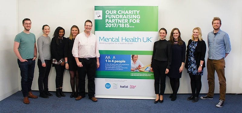 Lloyds Banking Group staff supporting Mental Health UK