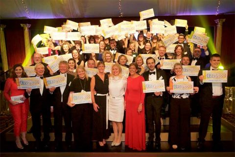 Peoples postcode lottery charity gala