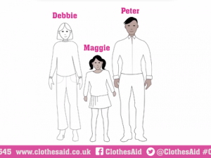Clothes Aid animation encourages January clear-out