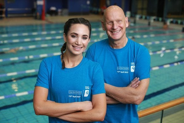 Duncan Goodhew Laura Wright
