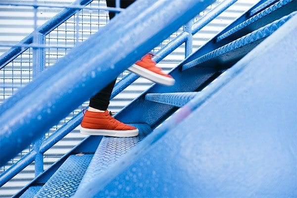 Climbing stairs - photo: Pixabay.com