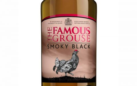 Bottle of The Famous Grouse Smoky Black