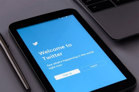Twitter welcome screen - photo: Pixabay.com