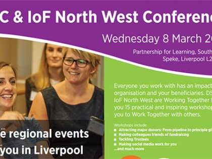 DSC and IoF NW to host conference in Liverpool