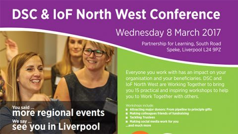 Directory of Social Change and IoF North West Conference brochure