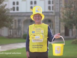 Meet the fundraiser – Geoff collects for Marie Curie