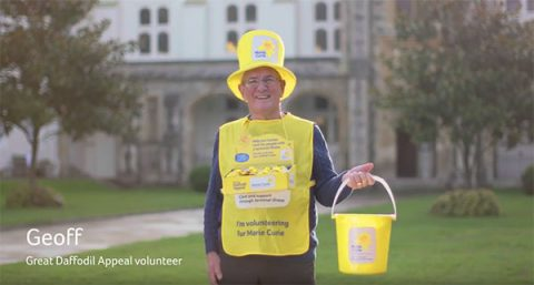 Geoff - Great Daffodil Appeal collector