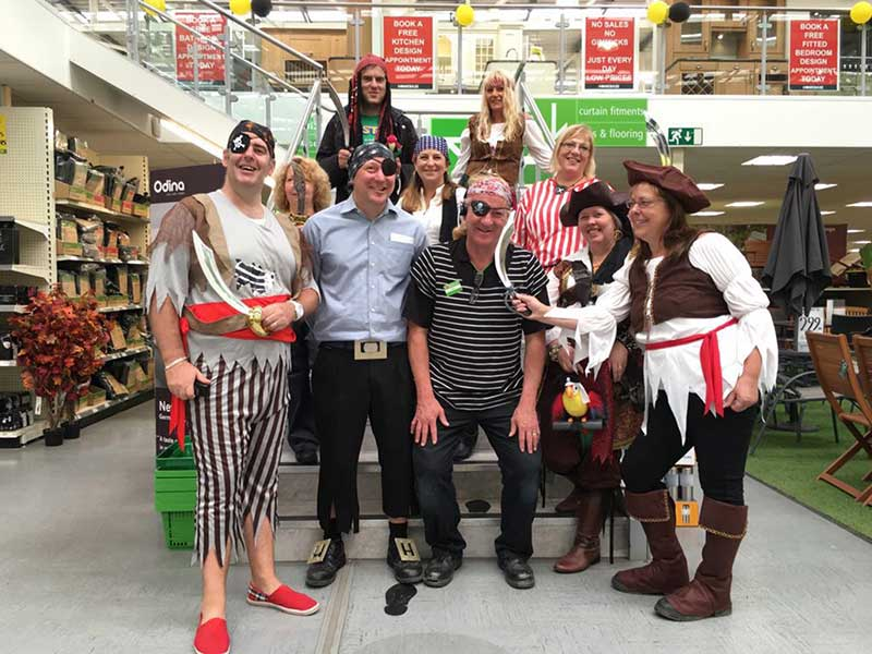 Homebase staff support Macmillan Cancer Support