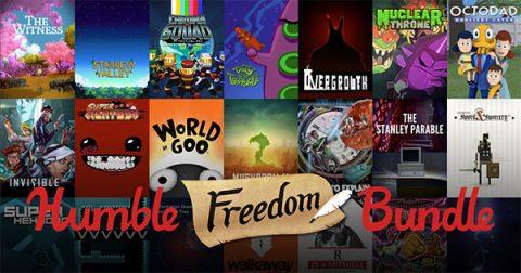 Humble Freedom Bundle digital titles