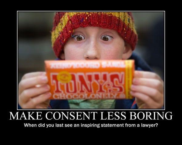 Make consent less boring