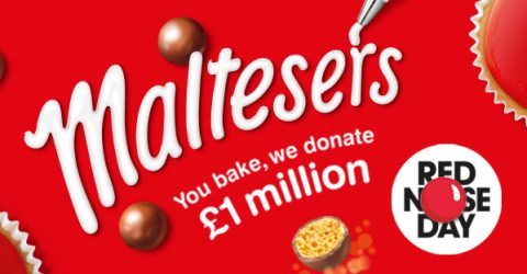 Maltesers #bakeamillion for Red Nose Day 2017