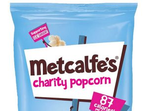 Metcalfe's skinny popcorn raises over £50k for CLIC Sargent