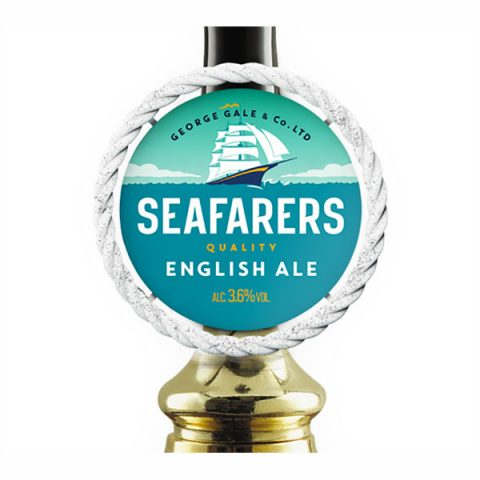 Seafarers Quality English Ale pump clip