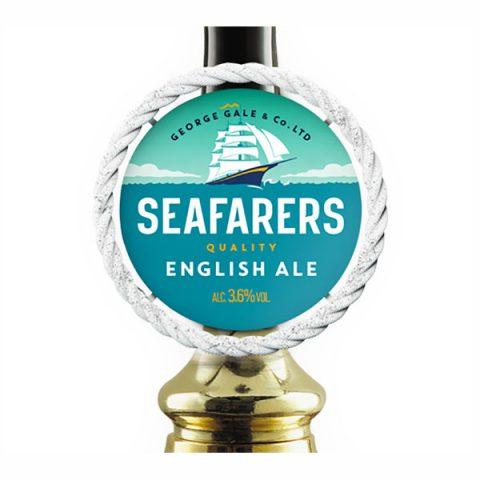 Seafarers Quality English Ale pump clip