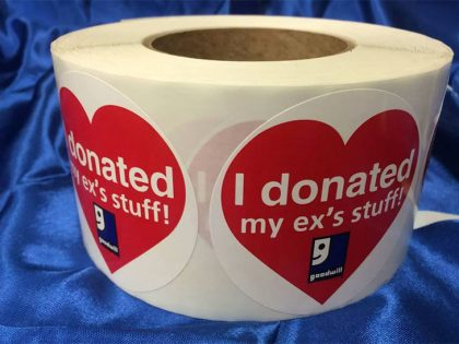 Valentine's Day? Donor Love? Be over it…!