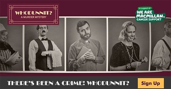 Whodunnit? Macmillan's murder mystery game