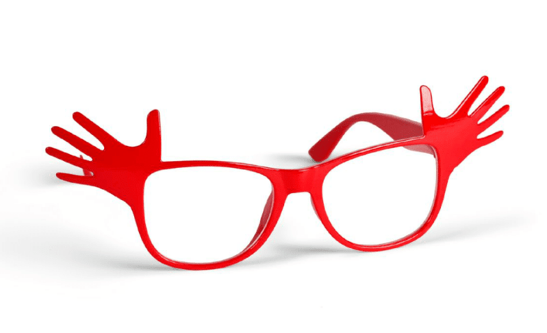 red nose day 2017 glasses