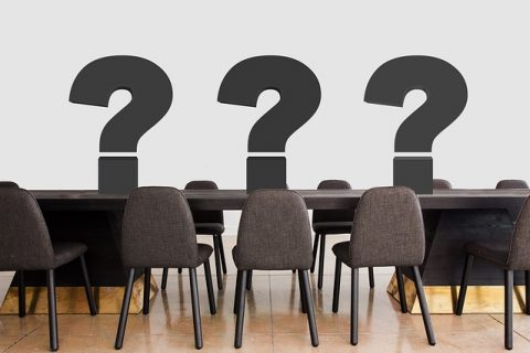 conference question marks