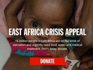 DEC East Africa Crisis Appeal raises £40 million