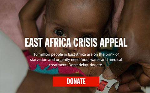 DEC East Africa Appeal - website appeal