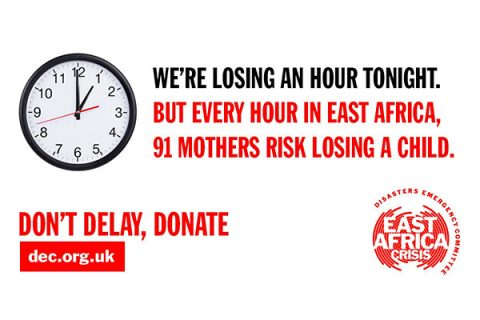 DEC appeal tweet about losing an hour