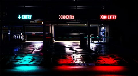 Entry and exit signs (opt-in and opt-out) - Pixabay