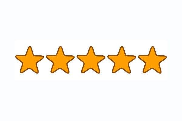 Five stars - image: Pixabay