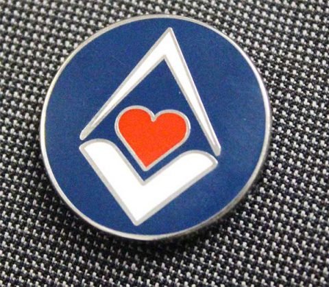 Masonic Charitable Foundation lapel badge