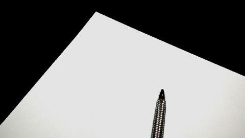 paper notes pen