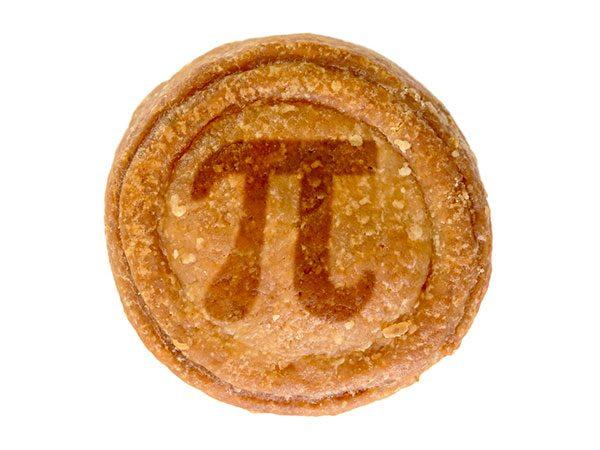 Pork pie, with pi symbol - pixabay.com