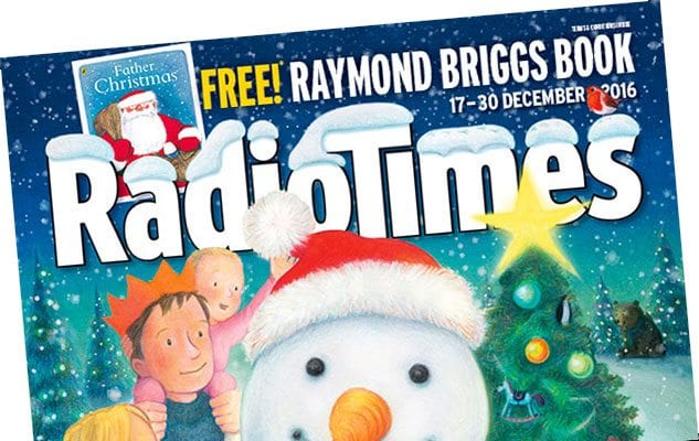 Radio Times Christmas 2016 front cover