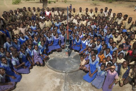 red cross borehole
