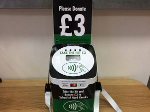 tap+ DONATE™ boxes to offer contactless giving at rugby championships