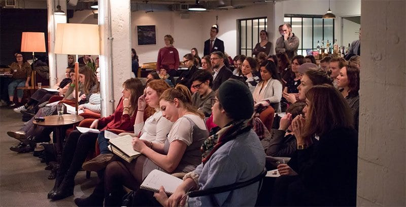 Young Arts Fundraisers meeting in January 2017