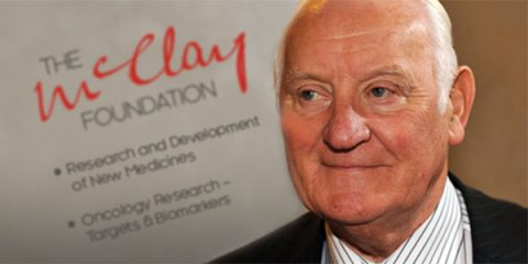 Sir Alan McClay of the McClay Foundation