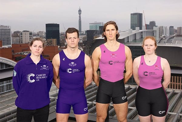 CRUK April Fools' Day prank with Boat Race
