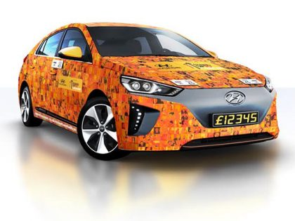 World's first contactless giving car to raise funds for Stand Up to Cancer