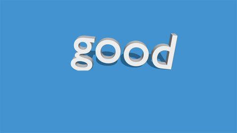 Good - image: Pixabay.com