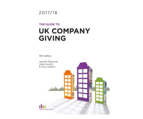 Cover of DSC's 11th edition of Guide to UK Company Giving